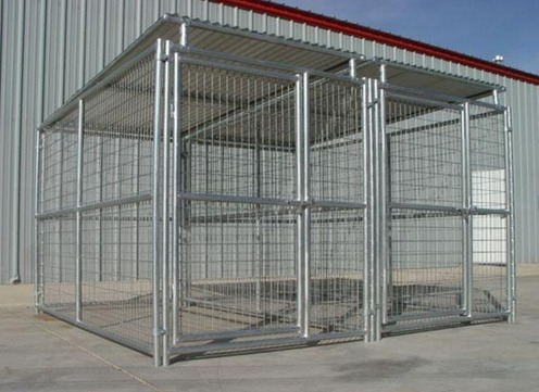 Heavy Duty Dog Kennels welded steel wire construction