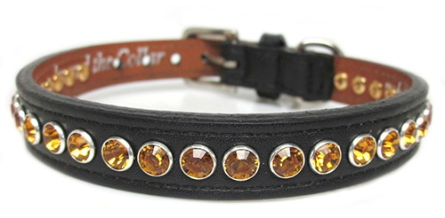 Bling Dog Collar single row