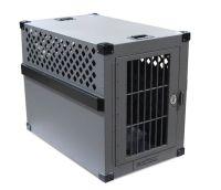 Heavy duty dog crate Escape proof aluminum construction