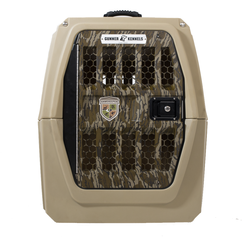 Gunner Kennels G1 MOSSY OAK® GAMEKEEPERS™ Edition Front View