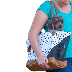 Economical-Pet-Tote-by-PetGear-from-CarryMyDog.com-Dalmation-color