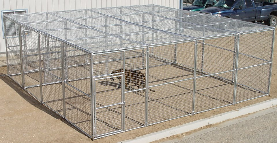 Outdoor Exotic animal cage