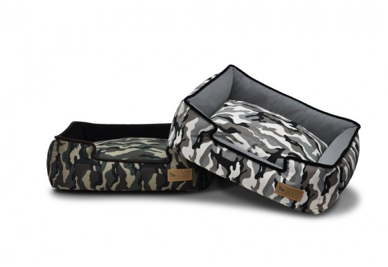 Luxury Dog Bed by P.L.A.Y. Model Camoflauge
